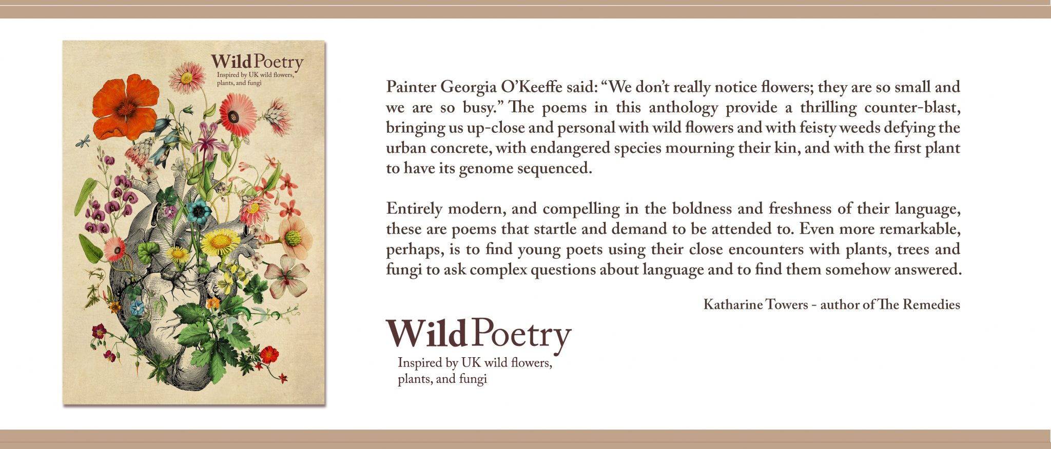 Wild Poetry Anthology On Sale Now